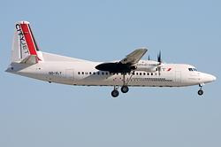 Fokker 50 CityJet OO-VLY