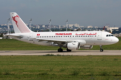 Airbus A319-114 Tunisair TS-IMJ