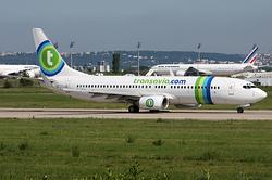 Boeing 737-85H(WL) Transavia France F-GZHN