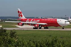Airbus A340-313X AirAsia X 9M-XAB