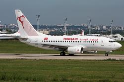 Boeing 737-6H3 Tunisair TS-ION