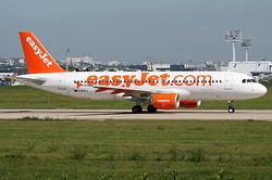 Airbus A320-214 easyJet G-EZTJ