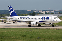 Airbus A320-216 CCM Airlines F-HBEV