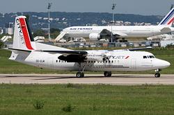 Fokker 50 CityJet OO-VLM