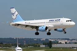 Airbus A319-111 Aigle Azur F-HBAL