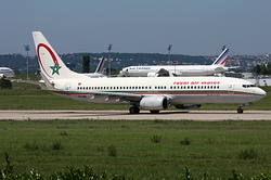 Boeing 737-8B6 Royal Air Maroc (RAM) CN-RNK