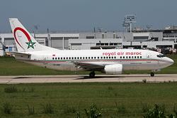 Boeing 737-5B6 Royal Air Maroc (RAM) CN-RMV