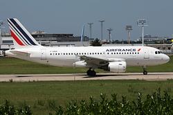 Airbus A319-111 Air France F-GRHF