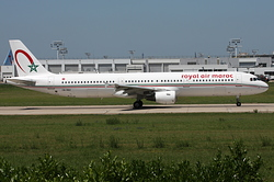 Airbus A321-211 Royal Air Maroc (RAM) CN-RNY