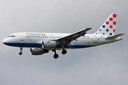 Airbus A319-112 Croatia Airlines 9A-CTH