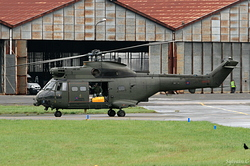 Aerospatiale SA-330E Puma HC1 Royal Air Force XW222