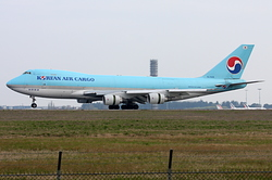 Boeing 747-4B5F/ER/SCD Korean Air Cargo HL7439
