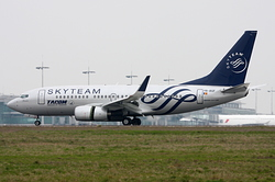 Boeing 737-78J Tarom - Romanian Air Transport YR-BGF
