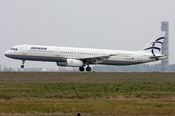 Airbus A321-232 Aegean Airlines SX-DVP