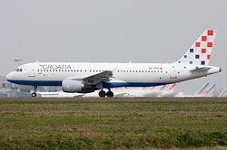 Airbus A320-214 Croatia Airlines 9A-CTJ