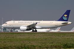 Airbus A320-214 Saudi Arabian Airlines HZ-ASB