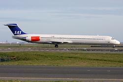 McDonnell Douglas MD-82 (DC-9-82) Scandinavian Airlines (SAS) LN-RLF