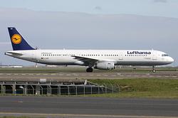 Airbus A321-231 Lufthansa D-AISR