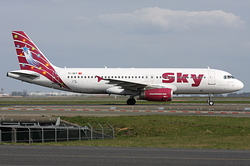 Airbus A320-232 Sky Airlines TC-SKT