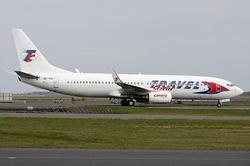 Boeing 737-8K5 Travel Service OK-TVP