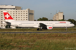 Airbus A321-111 Swiss International Air Lines HB-IOC