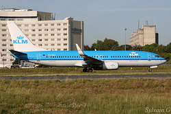 Boeing 737-8K2 KLM Royal Dutch Airlines PH-BXC