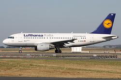 Airbus A319-112 Lufthansa Italia D-AKNH