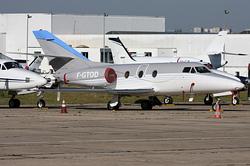 Dassault Falcon 10 Darta Aero Charter F-GTOD