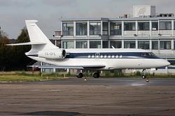 Dassault Falcon 2000 NetJets Europe CS-DFE