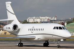 Dassault Falcon 2000EX Abelag Aviation OO-GML