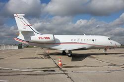 Dassault Falcon 2000EX JetNetherlands PH-VBG