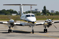 Beech B300 Super King Air 350 ADAC Ambulance D-CADN