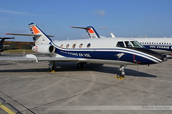 Dassault Falcon 20 E Centre d'Essais en Vol (CEV) 252 / CA / F-ZACA