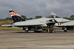 Eurofighter EF-2000 Typhoon FGR4 Royal Air Force ZK343 / BX