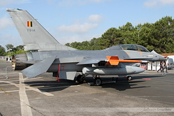 General Dynamics F-16BM Fighting Falcon Belgium Air Force FB-14