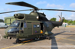 Aerospatiale SA-330E Puma HC1 Royal Air Force XW214