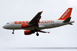 Airbus A319-111 EasyJet Airline G-EZII