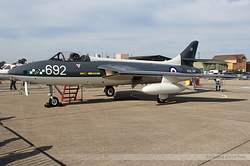 Hawker Hunter PR11 Royal Navy WT723 / VL-866
