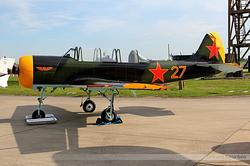 Yakovlev Yak-52 G-YAKX / 27