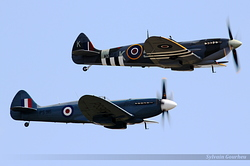 Supermarine 361 Spitfire LF9C Royal Air Force MK356 / 5J-K