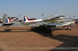 De Havilland DH-115 Vampire T55 G-HELV / XJ771