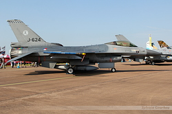 General Dynamics F-16AM Fighting Falcon Netherlands Air Force J-624