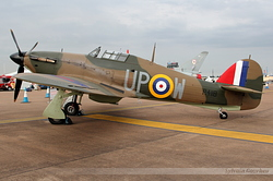 Hurricane Mk I Royal Air Force R4118 / UP-W