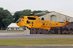 Westland WS-61 Sea King HAR3 Royal Air Force XZ592 / H