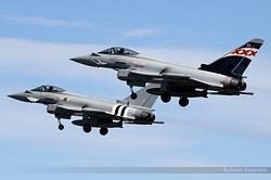 Eurofighter EF-2000 Typhoon FGR4 Royal Air Force ZK343 / BX