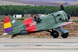 Polikarpov I-16 Type 24 Ishak CM-249 / EC-JRK