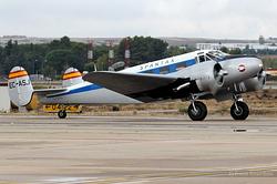 Beech E18S Spantax BA-6 / EC-ASJ