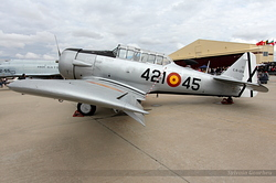 North American SNJ-5 Texan Spain Air Force C.6-124 / 421-45