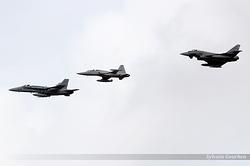 F-18 Hornet , F-5M Tiger & EF-2000 Typhoon