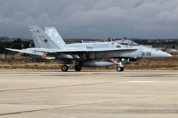 McDonnell Douglas EF-18M Hornet Spain Air Force C.15-48 / 12-06